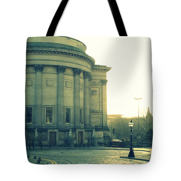 St Georges Hall Liverpool Tote Bag by Nomad Art And  Design