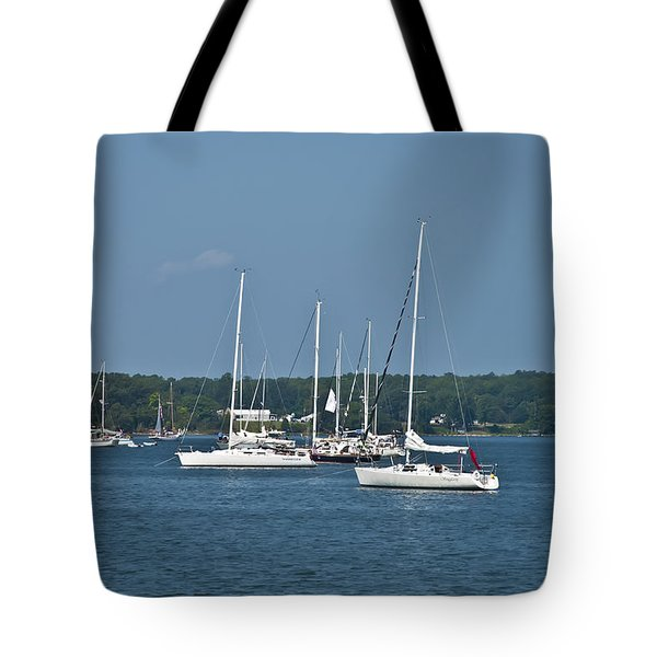 St. Mary's River Tote Bag by Bill Cannon