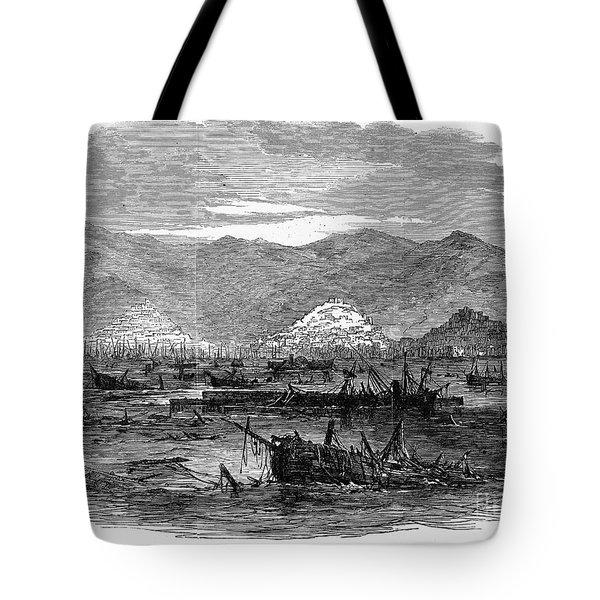 St. Thomas: Earthquake Tote Bag by Granger