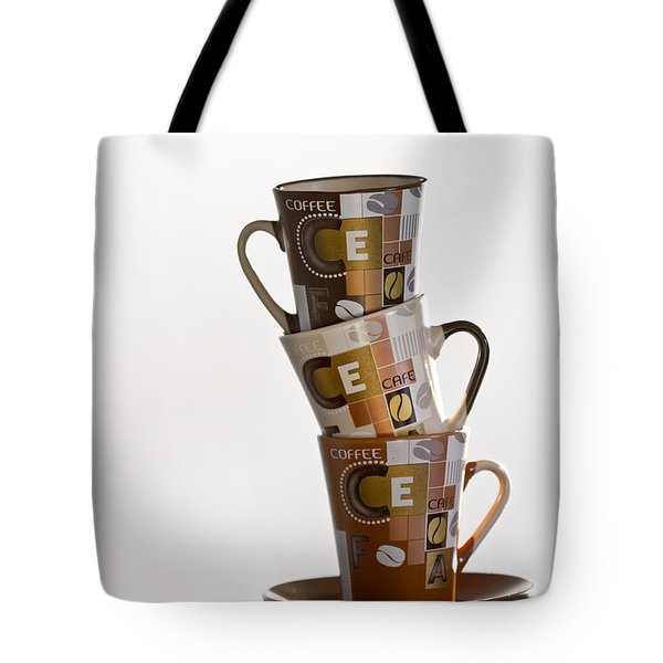 Stack Them Up Tote Bag by Evelina Kremsdorf