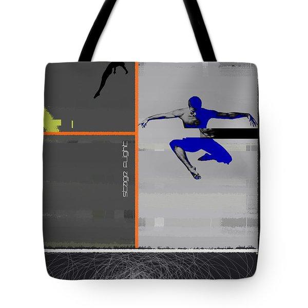 Stage Flight Tote Bag by Naxart Studio