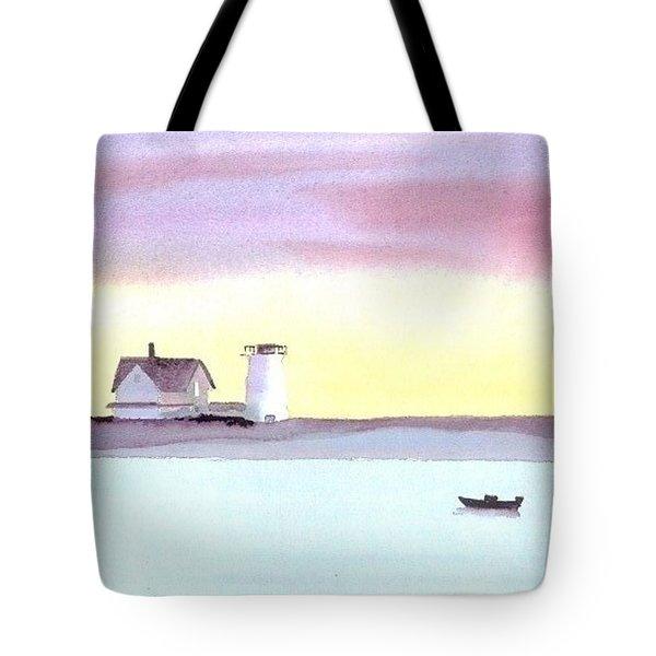 Stage Harbor Tote Bag by Joseph Gallant