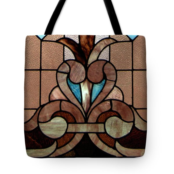Stained Glass Lc 06 Tote Bag by Thomas Woolworth