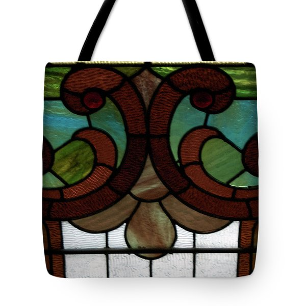 Stained Glass Lc 08 Tote Bag by Thomas Woolworth