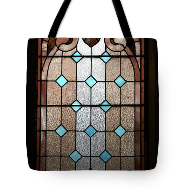 Stained Glass Lc 15 Tote Bag by Thomas Woolworth