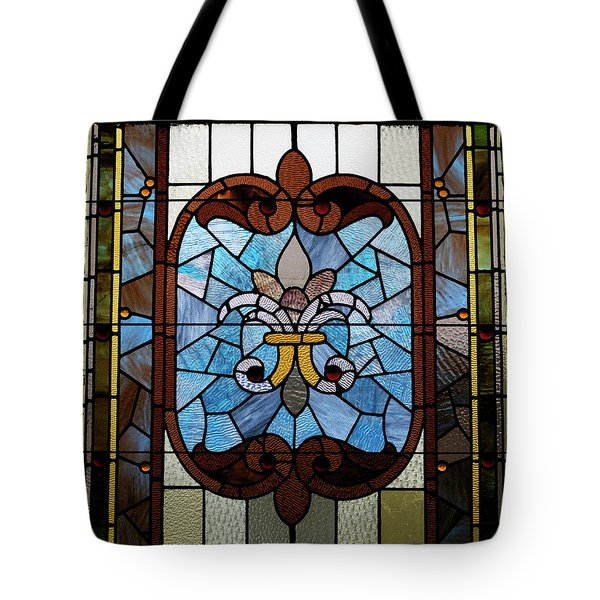 Stained Glass LC 19 Tote Bag by Thomas Woolworth