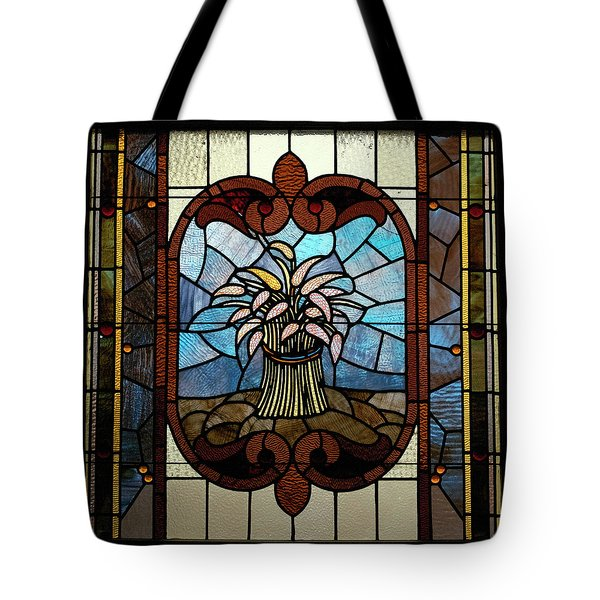 Stained Glass LC 20 Tote Bag by Thomas Woolworth
