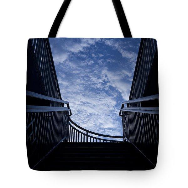 Stairway to Heaven Tote Bag by Joel Witmeyer