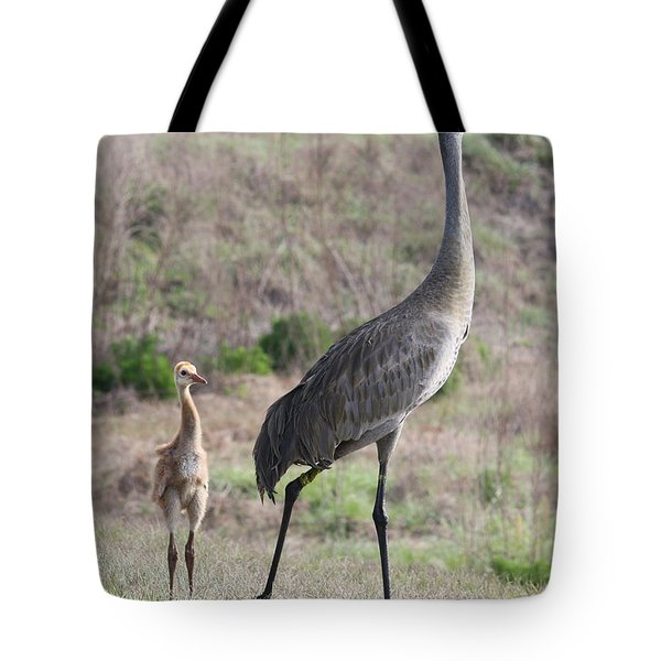 Standing Tall Tote Bag by Carol Groenen