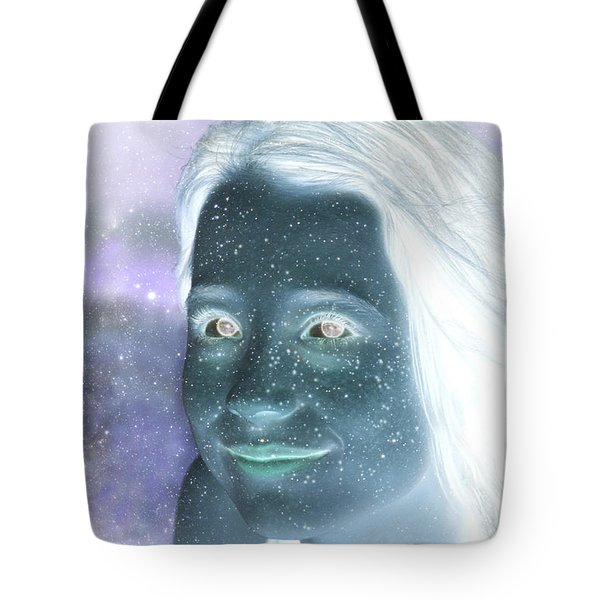 Star Freckles Tote Bag by Nikki Marie Smith