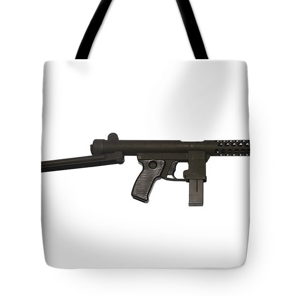 Star Z70b 9mm Submachine Gun Tote Bag by Andrew Chittock