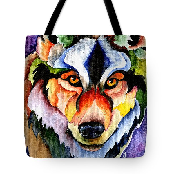 Stare Down Tote Bag by Sherry Shipley