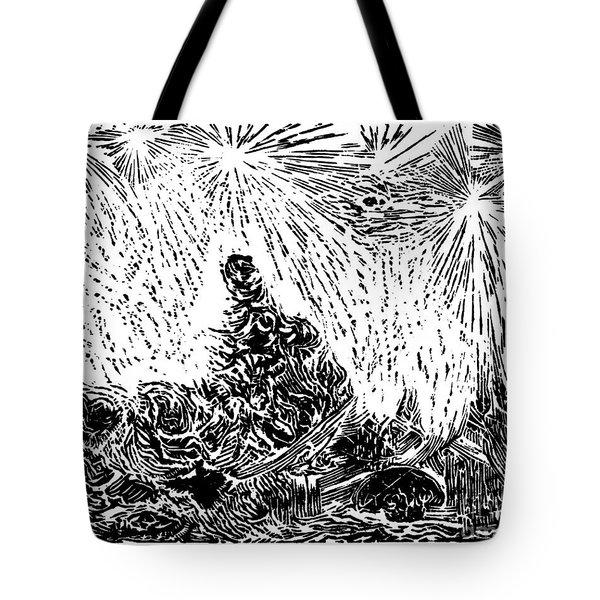 Starry Night Tote Bag by Dariusz Gudowicz