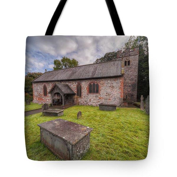 St.dyfnog's Church Tote Bag by Adrian Evans