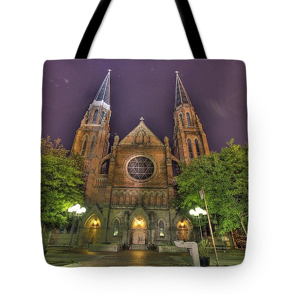Ste. Anne de Detroit Tote Bag by Nicholas  Grunas