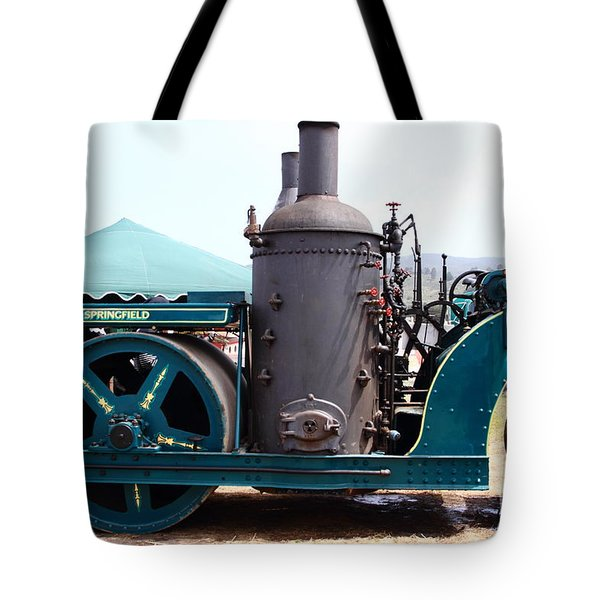 Steam Powered Roller 7d15116 Tote Bag by Wingsdomain Art and Photography