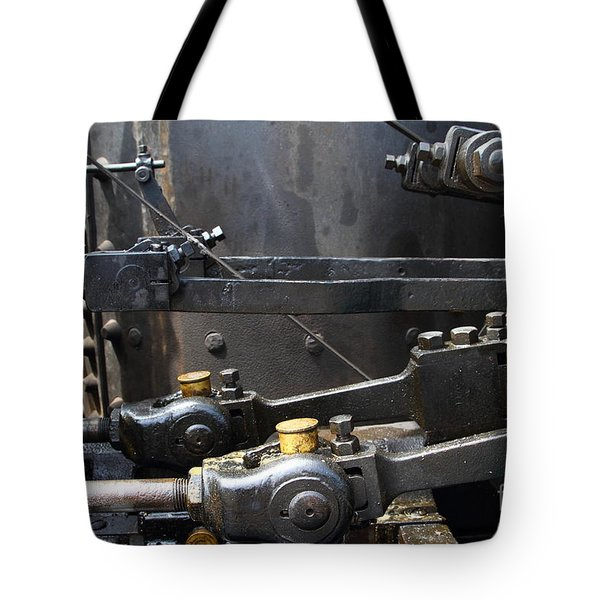 Steam Roller Engine Gizmos 7d15114 Tote Bag by Wingsdomain Art and Photography