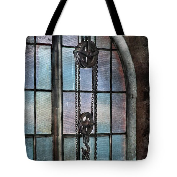 Steampunk - Gear - Importance of Industry  Tote Bag by Mike Savad