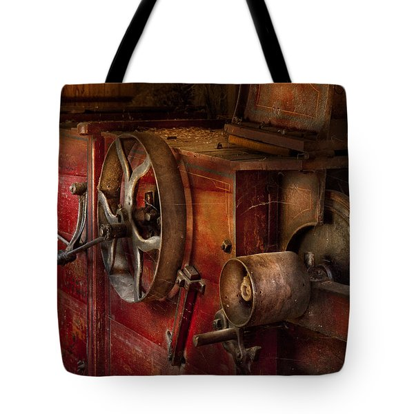 Steampunk - Gear - It used to work Tote Bag by Mike Savad