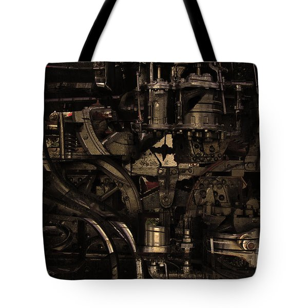 Steampunk Patent 1215 Prototype B . Gold Version Tote Bag by Wingsdomain Art and Photography