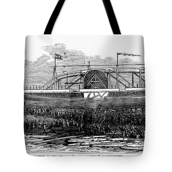 Steamship Launch, 1876 Tote Bag by Granger