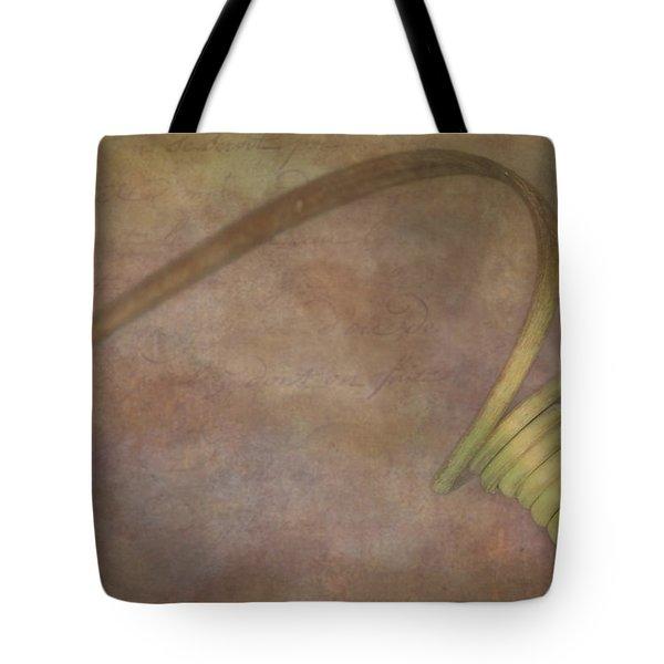 Stem Curls Tote Bag by Susan Candelario