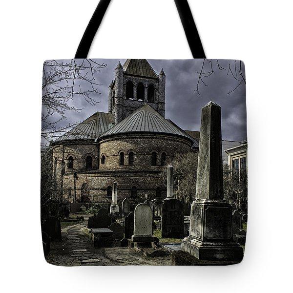 Steps In Time Tote Bag by Lynn Palmer
