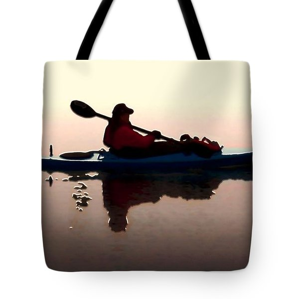 Still Waters Tote Bag by Dale   Ford