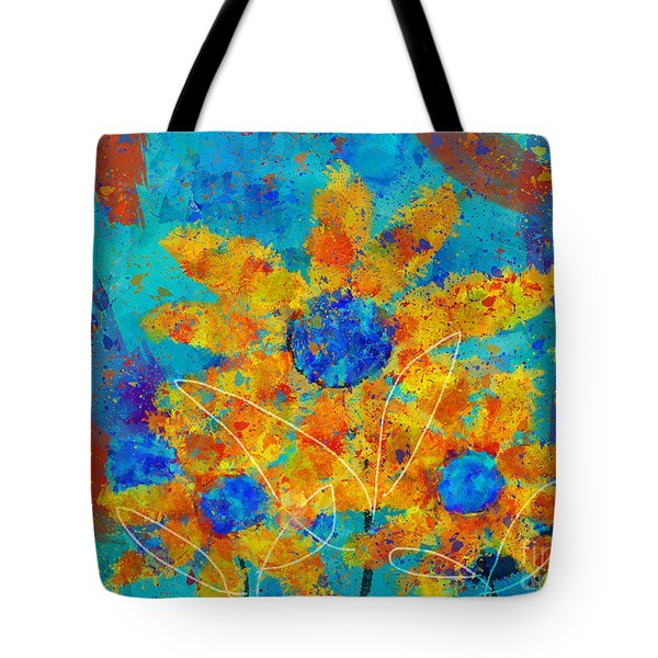 Stimuli Floral s01 Tote Bag by Variance Collections