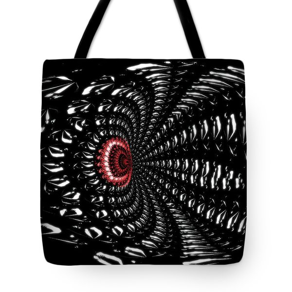 Sting Of The Black Widow Tote Bag by Maria Urso