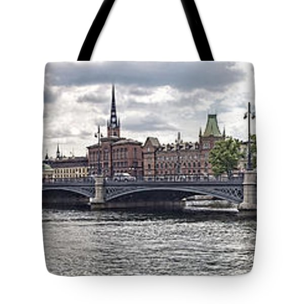 Stockholm Tote Bag by Mauro Celotti