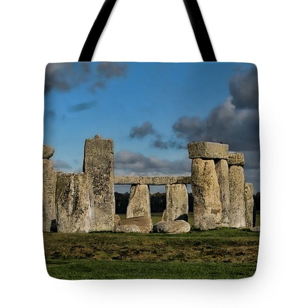 Stonehenge Tote Bag by Heather Applegate