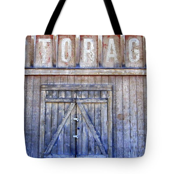 Storage - Architectural Photography Tote Bag by Karyn Robinson