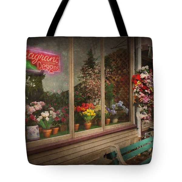 Store - Belvidere NJ - Fragrant Designs Tote Bag by Mike Savad