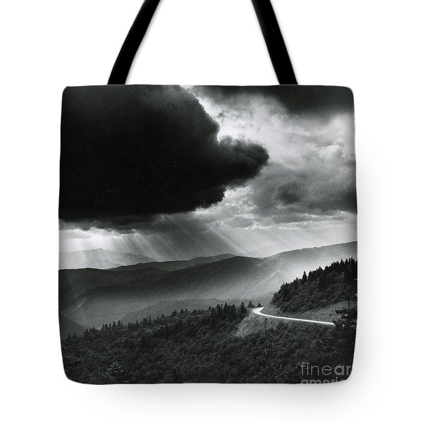 Storm Cloud Tote Bag by Bruce Roberts and Photo Researchers