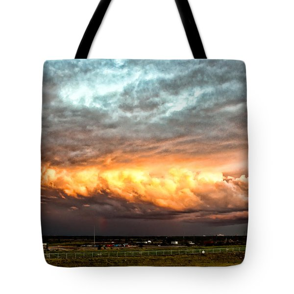 Storm Glow Tote Bag by Christopher Holmes