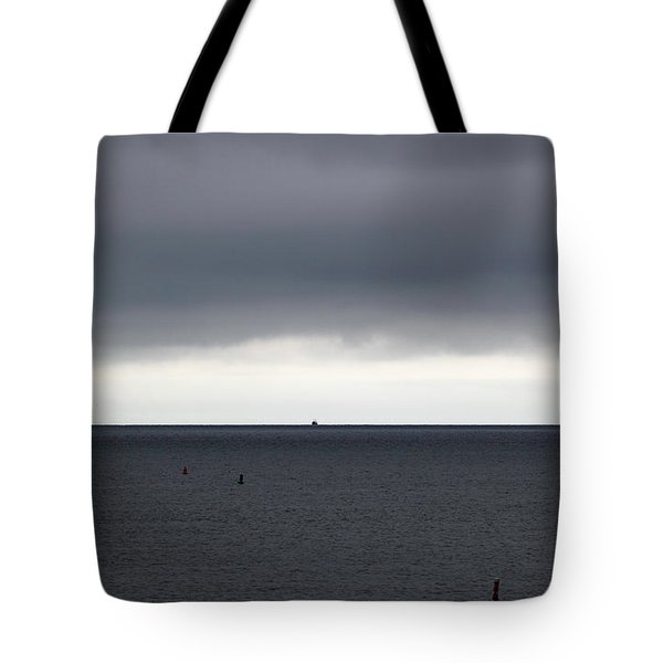 Storms Ahead Tote Bag by Michelle Wiarda
