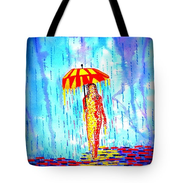 Stormy Mood 2 Tote Bag by Connie Valasco