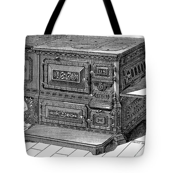 Stove, 1876 Tote Bag by Granger