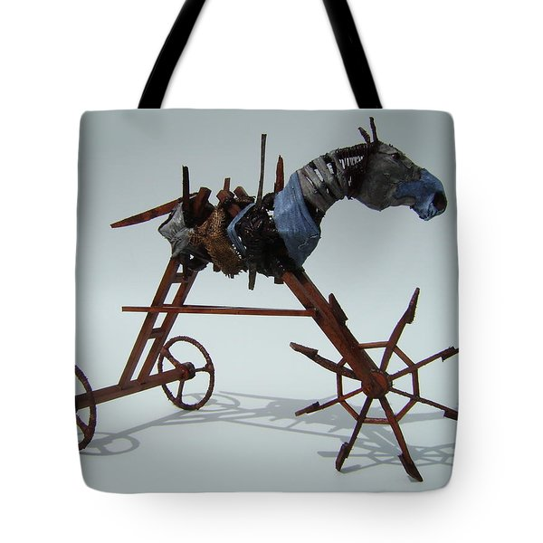 Strangely Young Tote Bag by Jim Casey