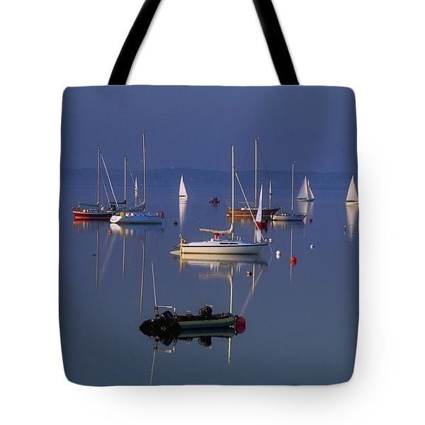 Strangford Lough, Co Down, Ireland Tote Bag by SICI