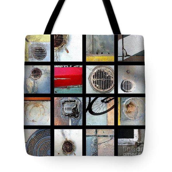 Streets Of La Jolla Poster Tote Bag by Marlene Burns