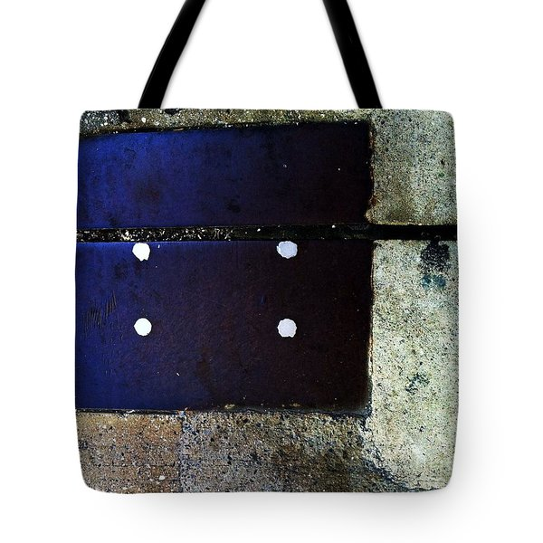 Streets Of New York Abstract Four Tote Bag by Marlene Burns