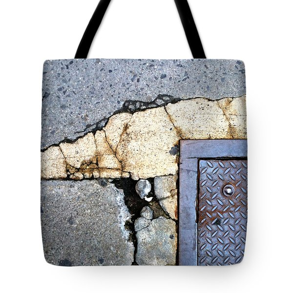 Streets Of Nyc Abstract One Tote Bag by Marlene Burns
