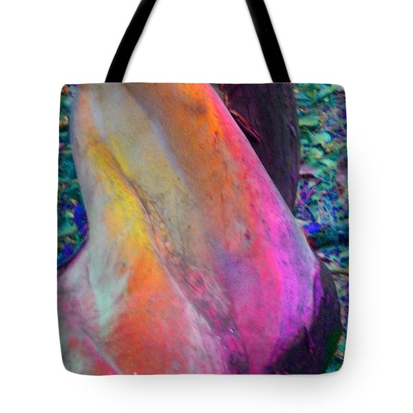 Tote Bag featuring the digital art Stretch by Richard Laeton