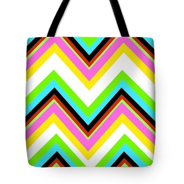 Stripe Tote Bag by Louisa Knight