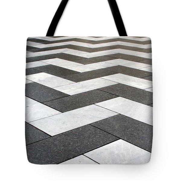 Stripes Tote Bag by Linda Woods