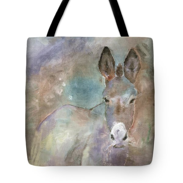 Stubborn Jesse - I'm Not Moving Tote Bag by Arline Wagner