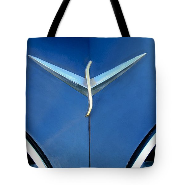 Studebaker Hood Emblem Tote Bag by Jill Reger