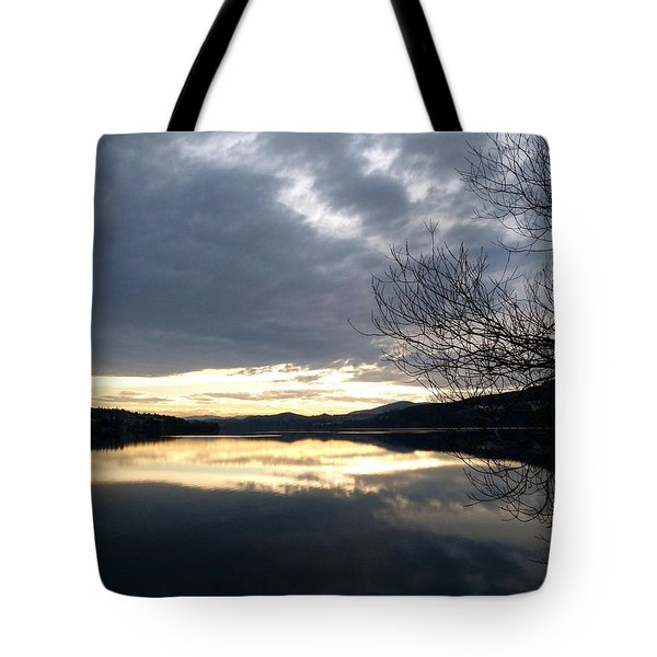 Stunning Tranquility Tote Bag by Will Borden